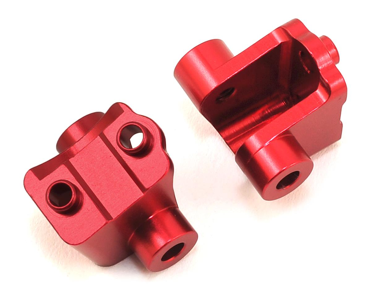 ST Racing Concepts Traxxas TRX-4 Aluminum Rear Lower Shock Mounts (2) (Red)