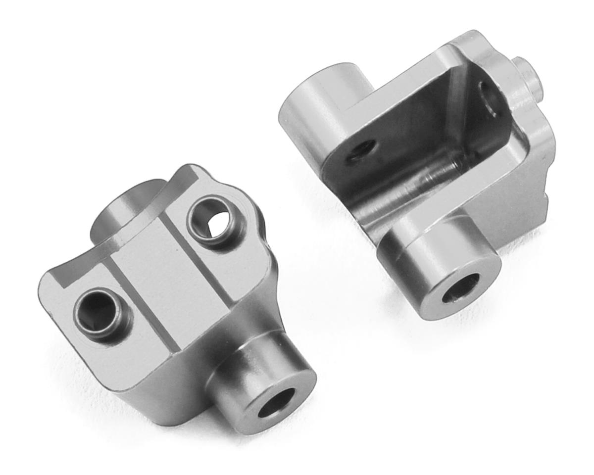 ST Racing Concepts Traxxas TRX-4 Aluminum Rear Lower Shock Mounts (2) (Silver)