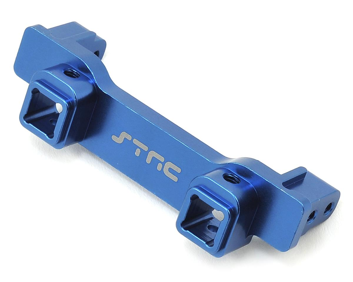 ST Racing Concepts Aluminum TRX-4 Heavy Duty Front Bumper Mount (Blue)
