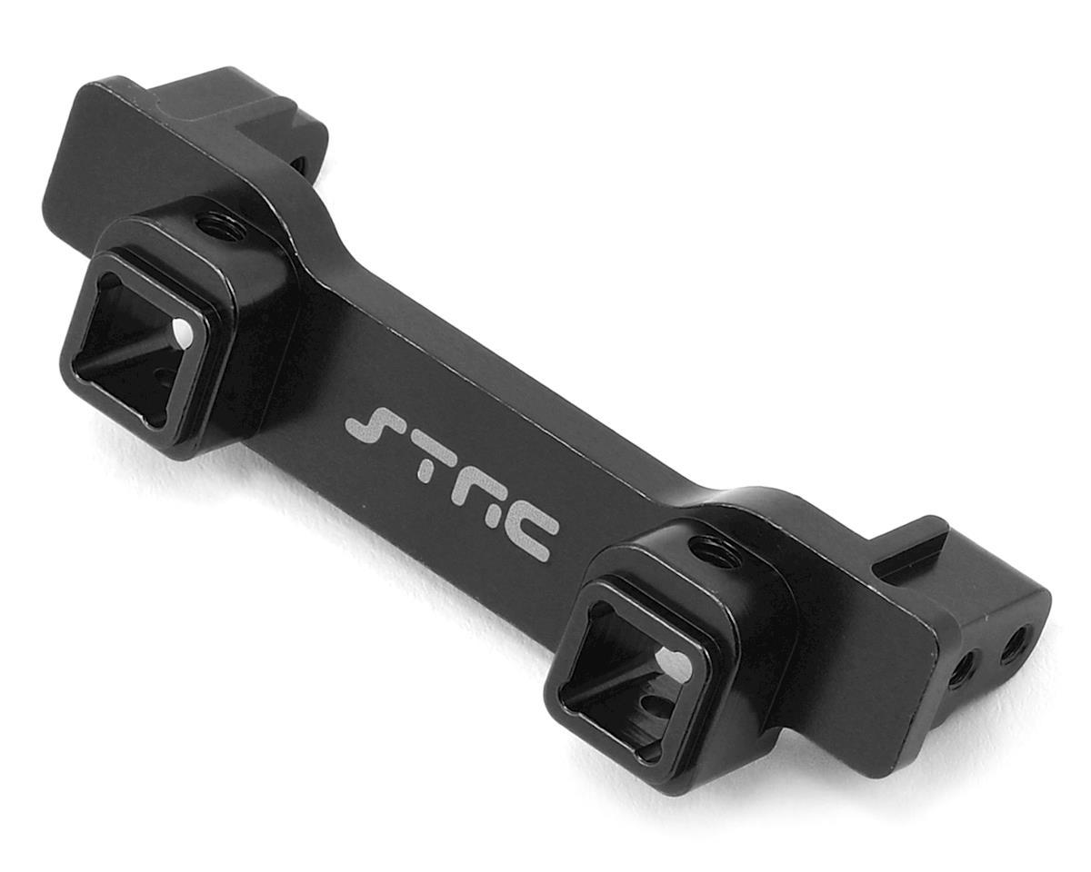 ST Racing Concepts Aluminum TRX-4 Heavy Duty Front Bumper Mount (Black)