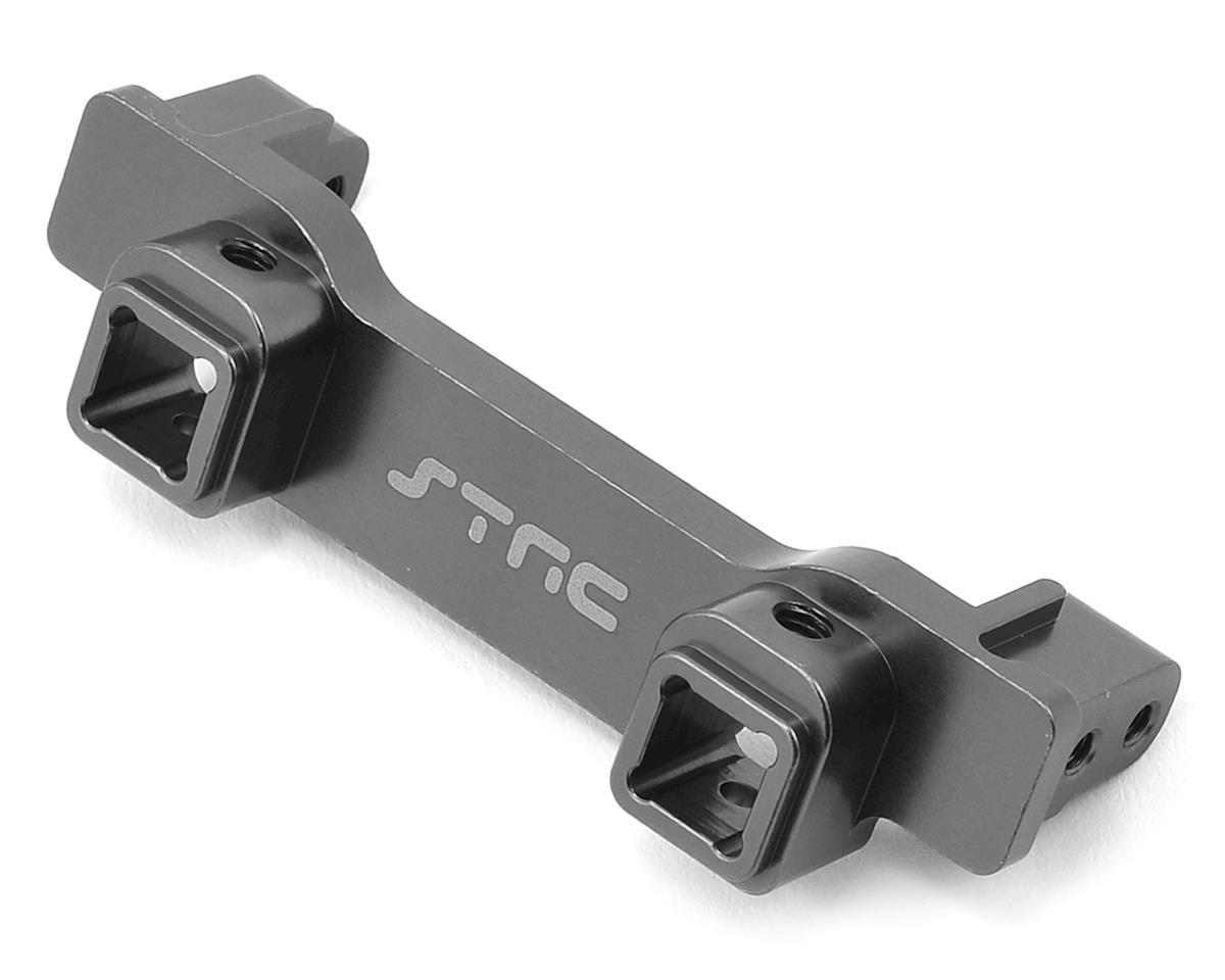 ST Racing Concepts Aluminum TRX-4 Heavy Duty Front Bumper Mount (Gun Metal)