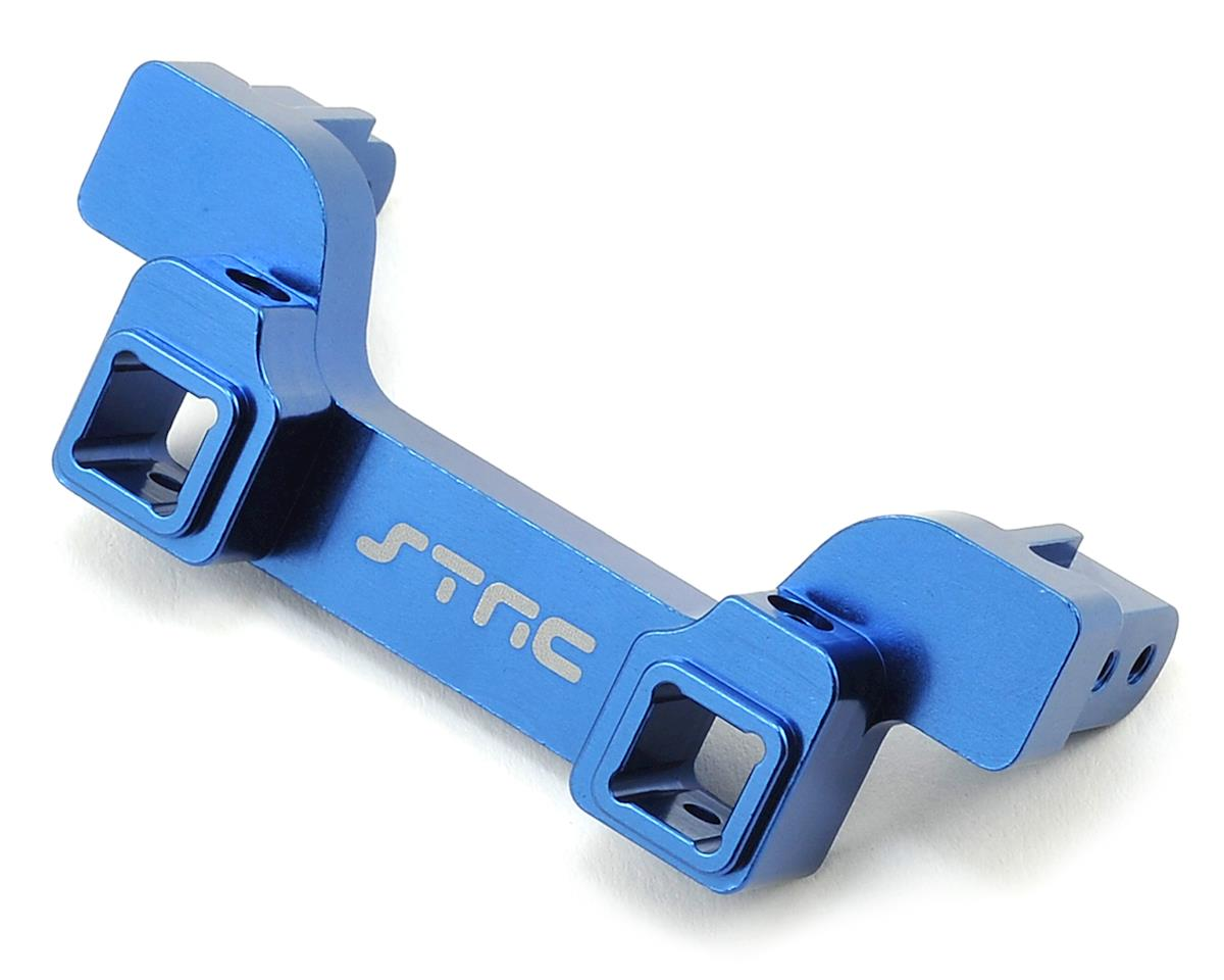 ST Racing Concepts Aluminum TRX-4 Heavy Duty Rear Bumper Mount (Blue)