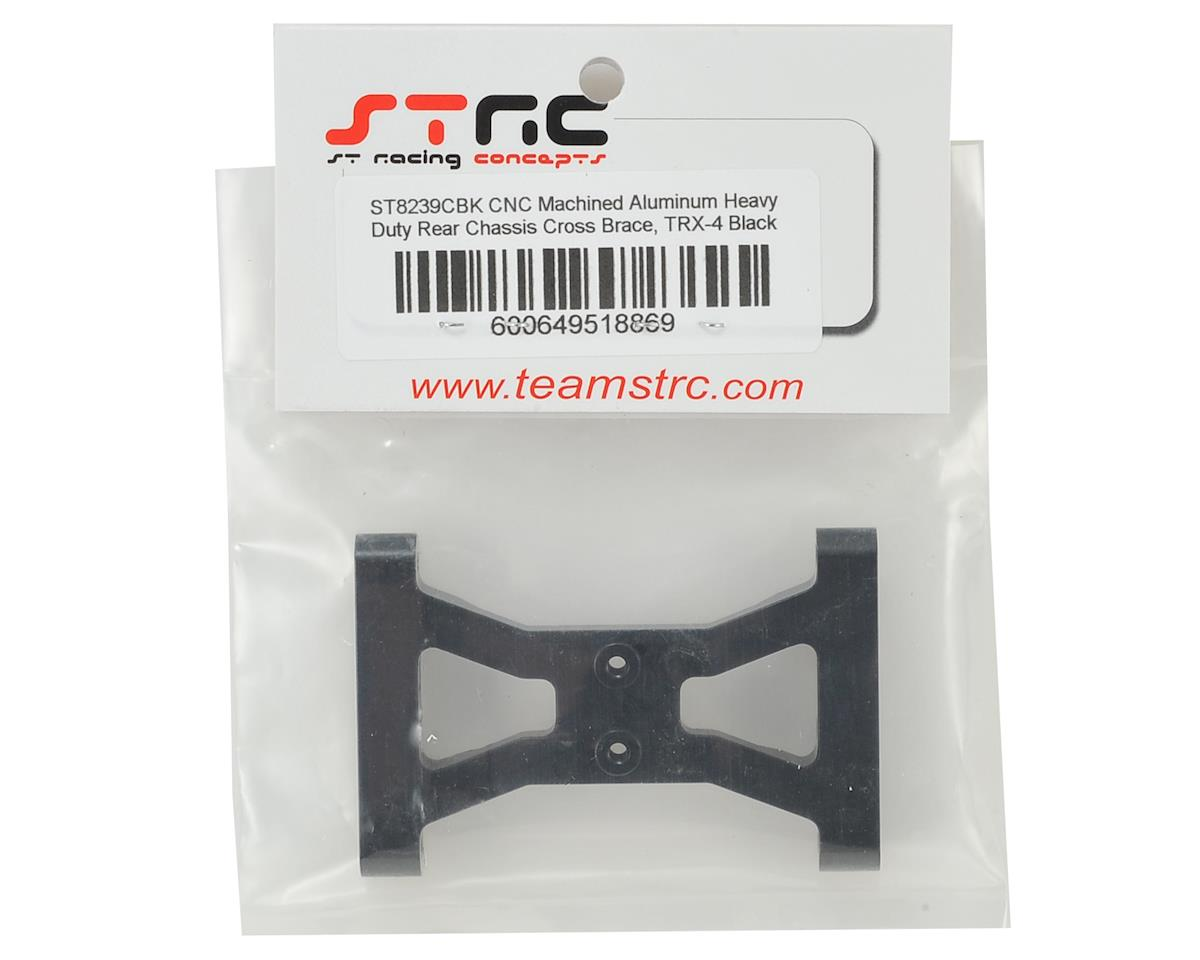 ST Racing Concepts Traxxas TRX-4 HD Rear Chassis Cross Brace (Black)