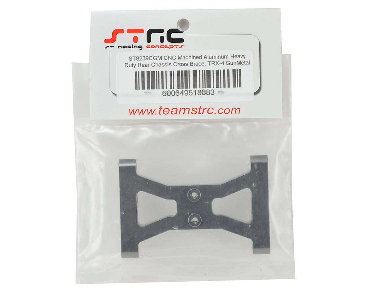 ST Racing Concepts Traxxas TRX-4 HD Rear Chassis Cross Brace (Gun Metal)
