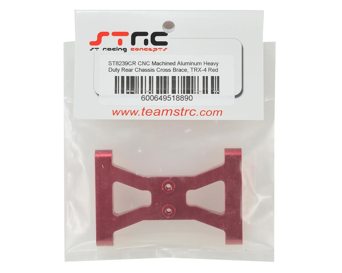ST Racing Concepts Traxxas TRX-4 HD Rear Chassis Cross Brace (Red)