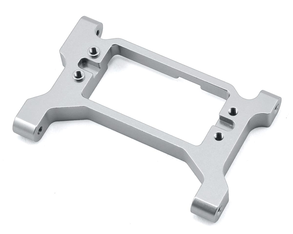 ST Racing Concepts Traxxas TRX-4 One-Piece Servo Mount/Chassis Brace (Silver)