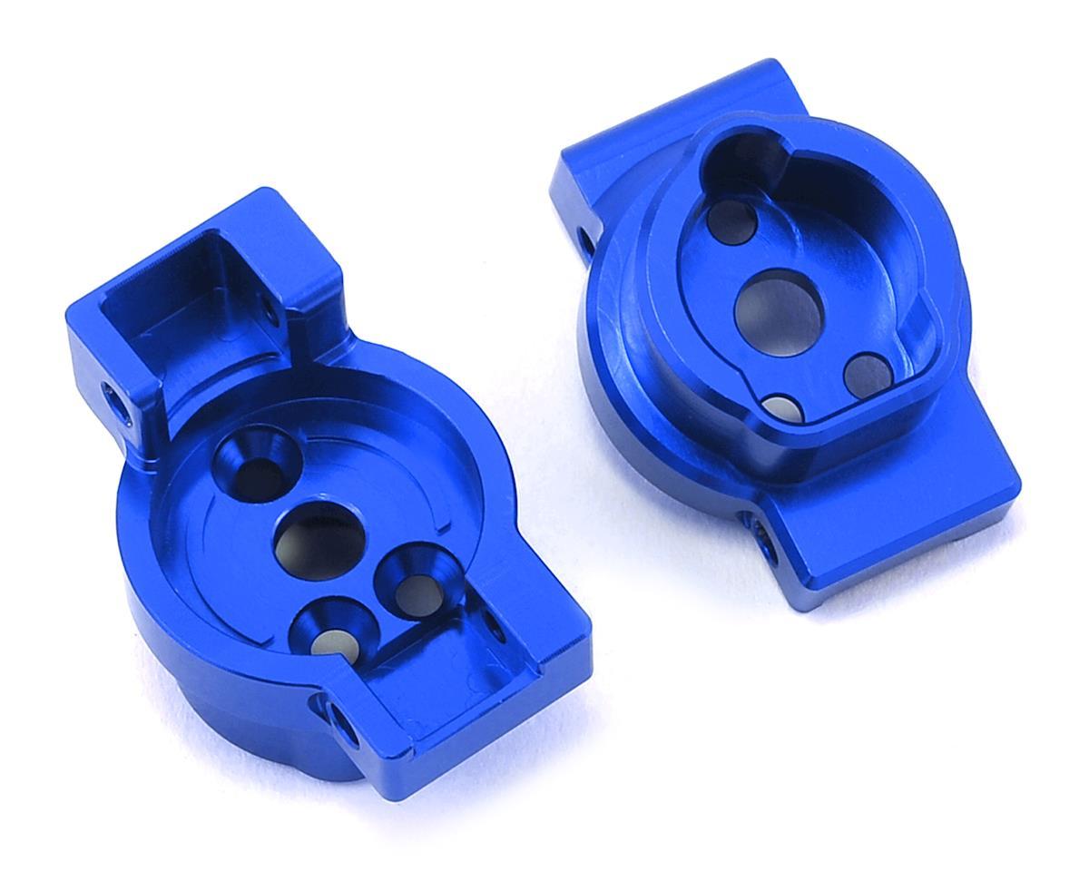 ST Racing Concepts Traxxas TRX-4 Aluminum Rear Portal Drive Mount (2) (Blue)