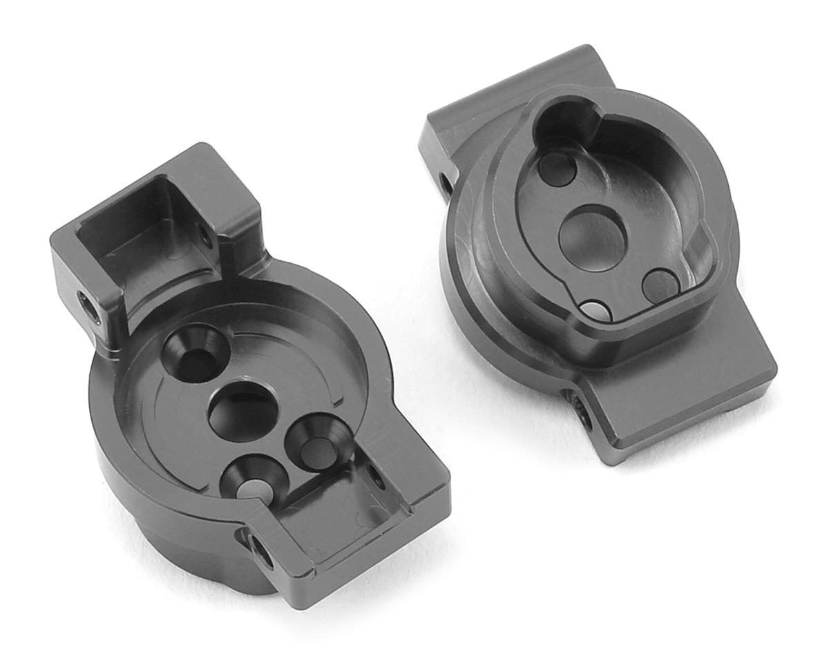 Traxxas TRX-4 Aluminum Rear Portal Drive Mount (2) (GunMetal) by ST Racing Concepts