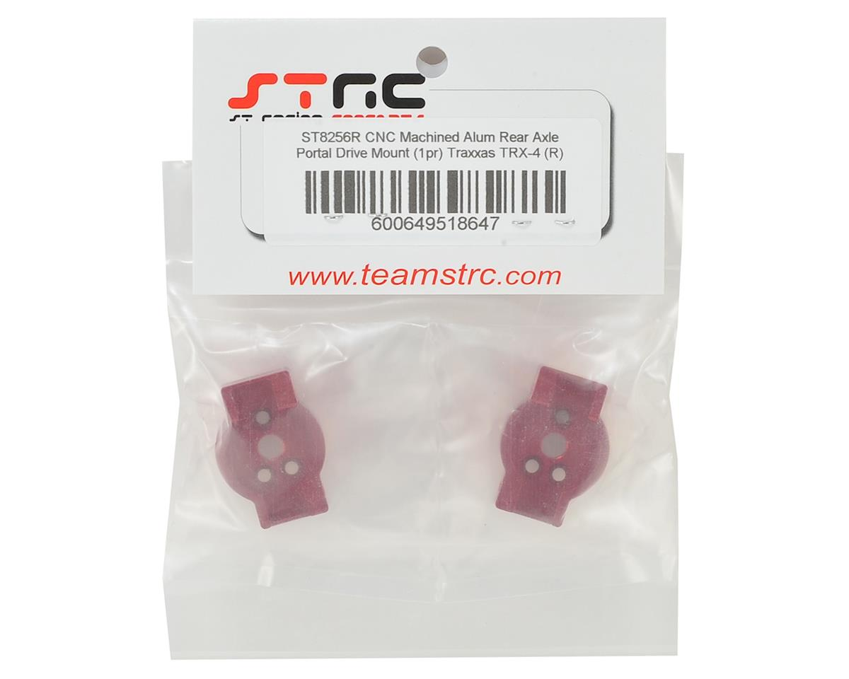 ST Racing Concepts Traxxas TRX-4 Aluminum Rear Portal Drive Mount (2) (Red)