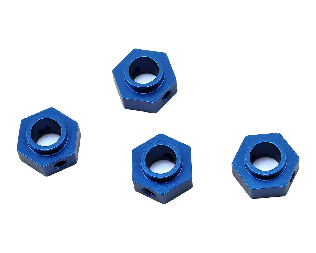 ST Racing Concepts Traxxas TRX-4 Aluminum Wheel Hex Adapters (4) (Blue)