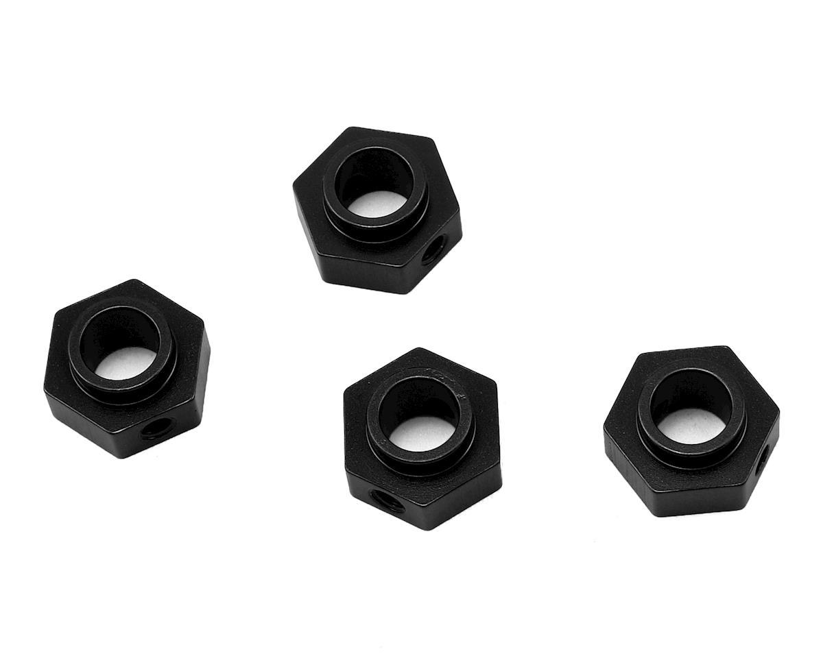 ST Racing Concepts Traxxas TRX-4 Aluminum Wheel Hex Adapters (4) (Black)