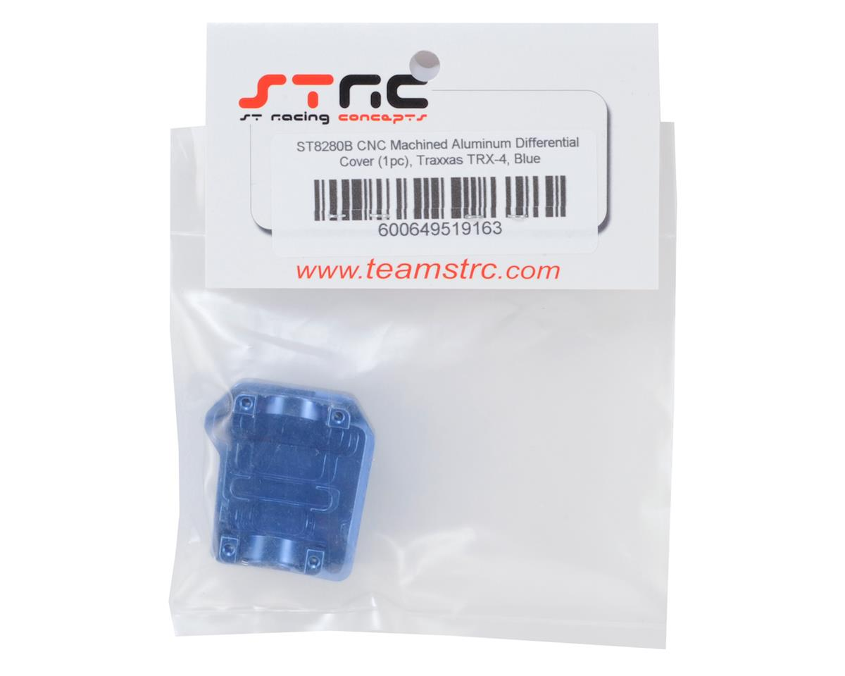 ST Racing Concepts Aluminum TRX-4 Differential Cover (Blue)