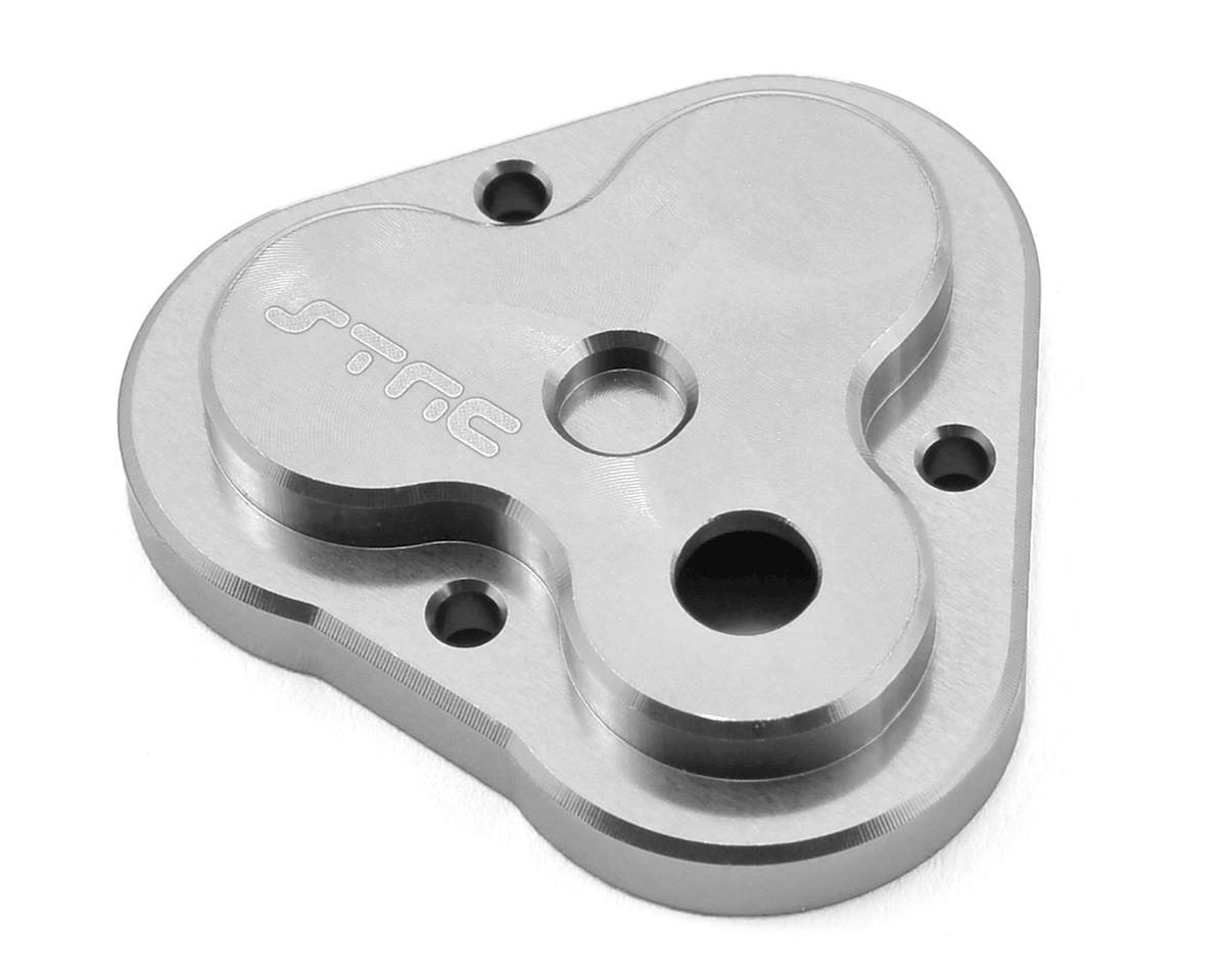 Aluminum TRX-4 Center Gearbox Housing (Silver) by ST Racing Concepts