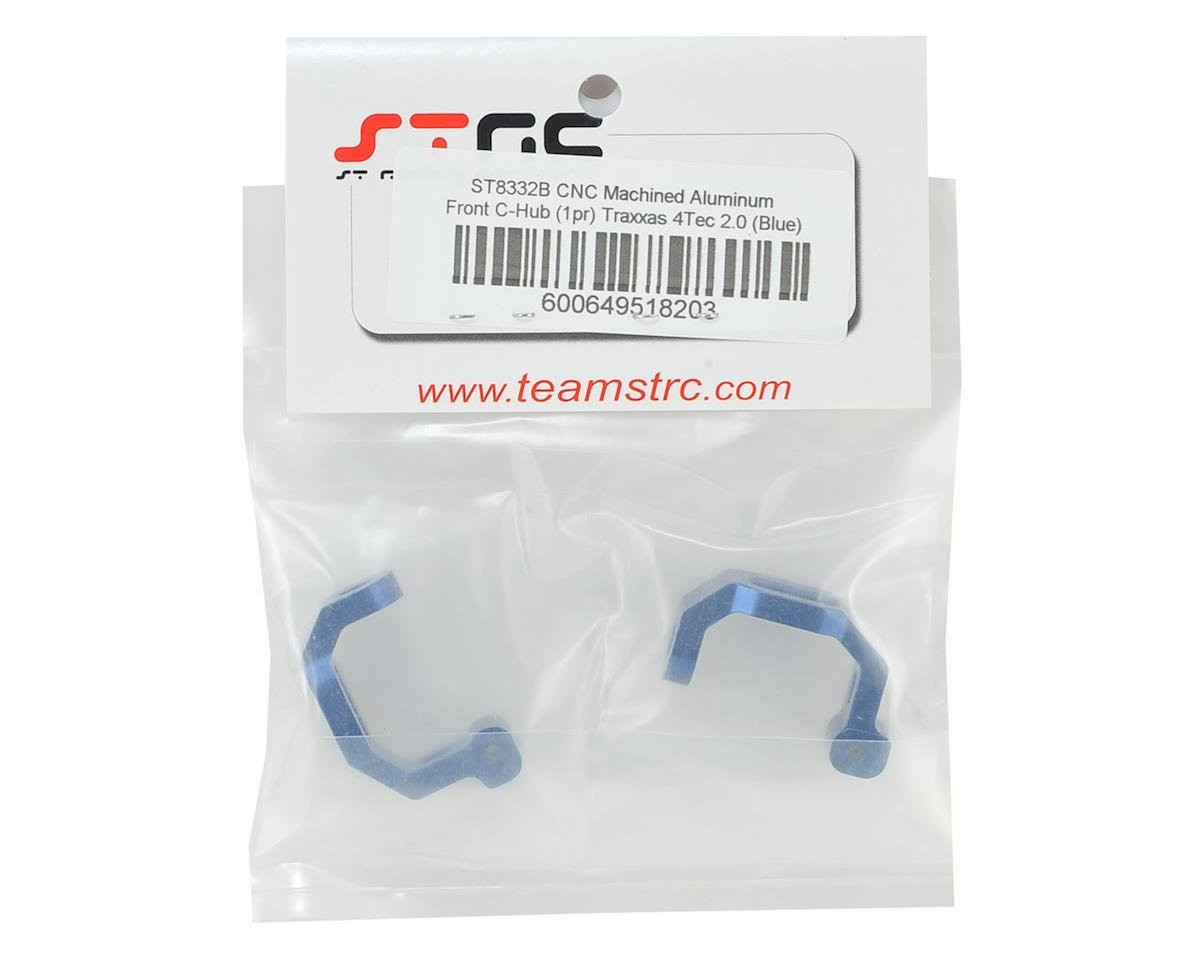 ST Racing Concepts Traxxas 4Tec 2.0 Aluminum Caster Blocks (Blue)