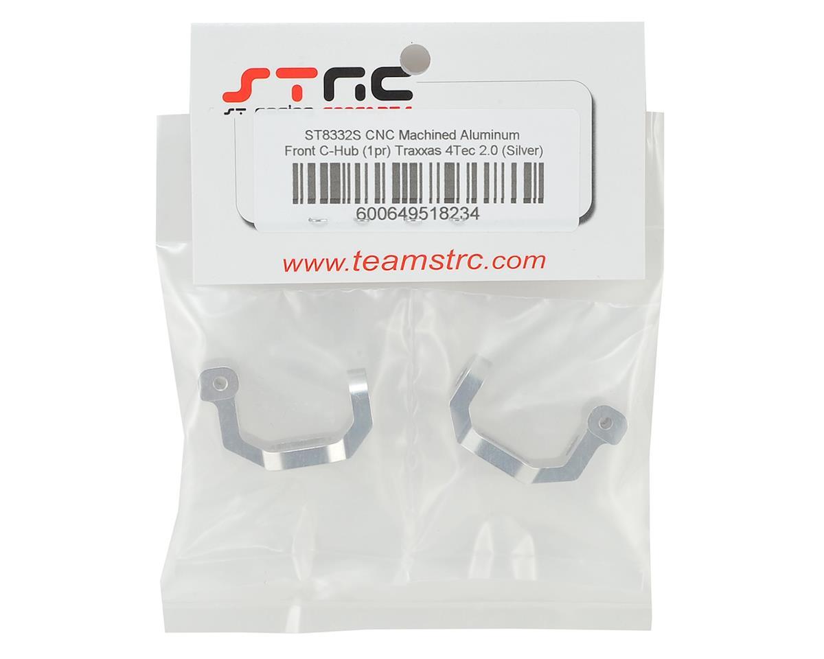 ST Racing Concepts Traxxas 4Tec 2.0 Aluminum Caster Blocks (Silver)