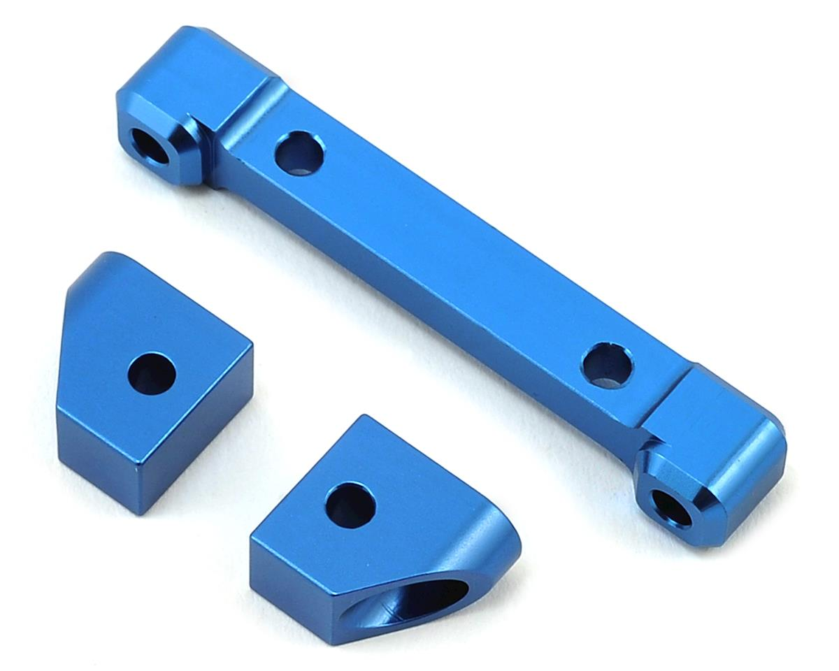 ST Racing Concepts Traxxas 4Tec 2.0 Aluminum Rear Hinge Pin Blocks (Blue)