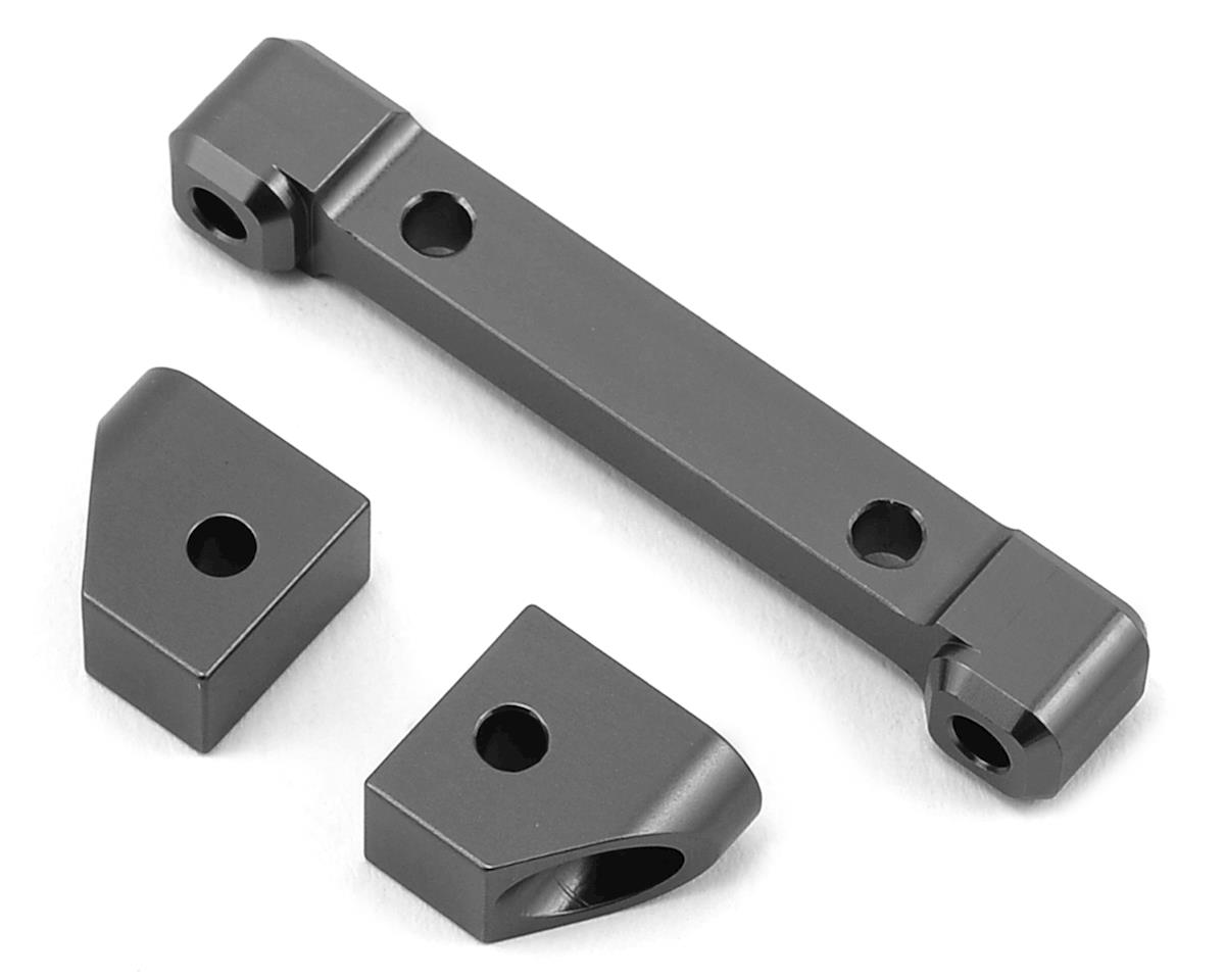 ST Racing Concepts Traxxas 4Tec 2.0 Aluminum Rear Hinge Pin Blocks (Gun Metal)
