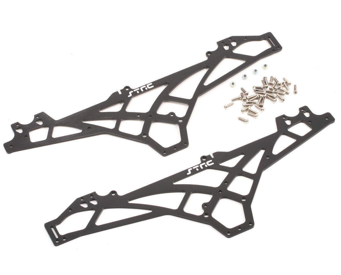ST Racing Concepts Aluminum Chassis Upgrade Kit (Black)
