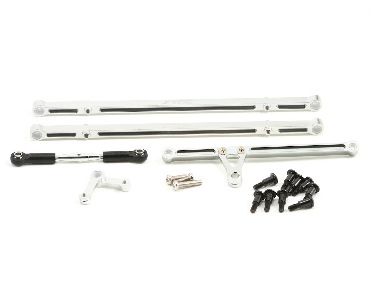 ST Racing Concepts Complete Aluminum Steering Linkage Upgrade Kit (Silver)