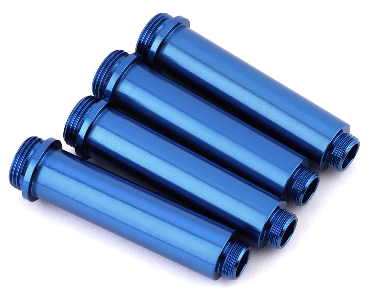 ST Racing Concepts Aluminum Shock Bodies (Blue) (4)