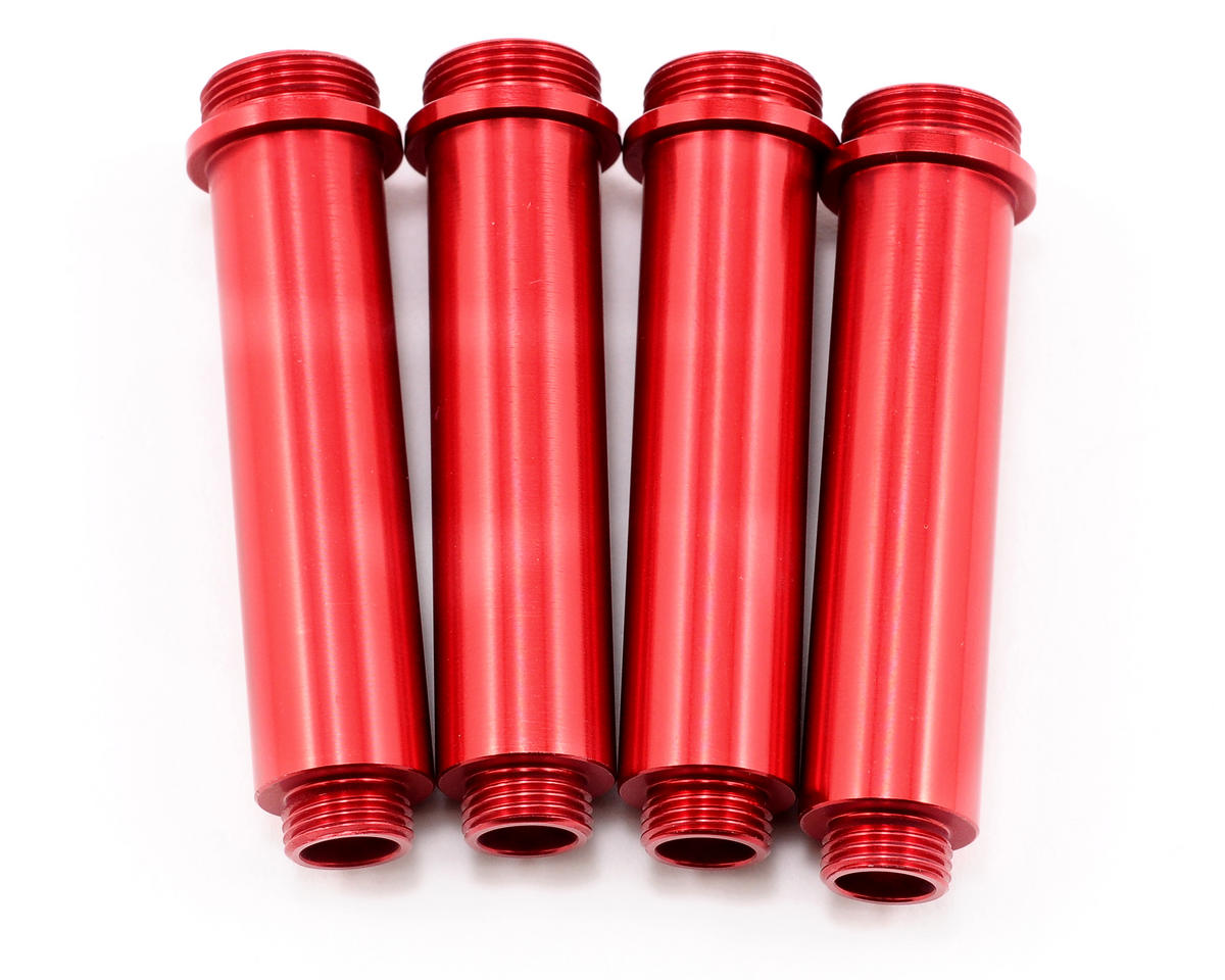 ST Racing Concepts Aluminum Shock Bodies (4) (Red)