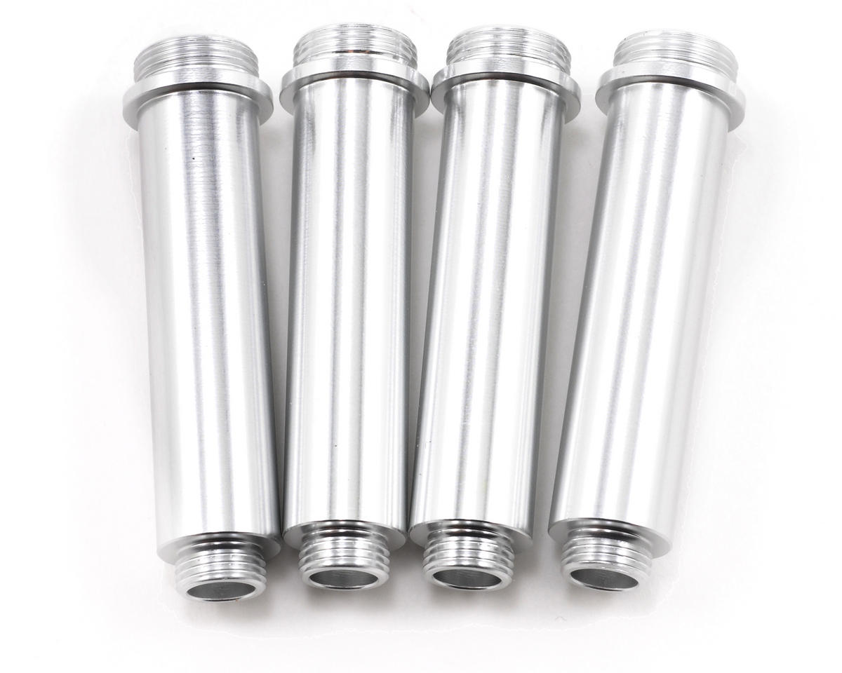 ST Racing Concepts Aluminum Shock Bodies (4) (Silver)