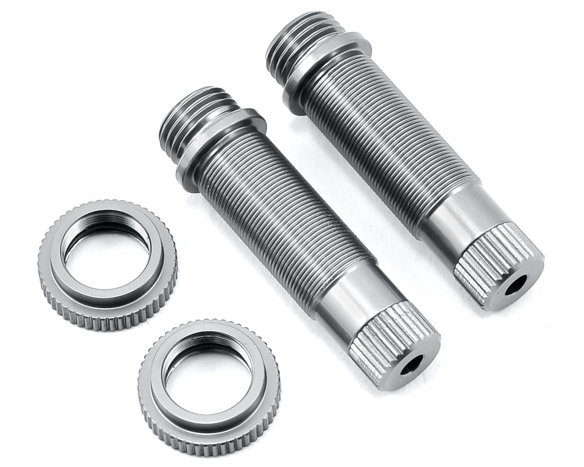 SCX10 Aluminum Shock Body (2) (Silver) by ST Racing Concepts