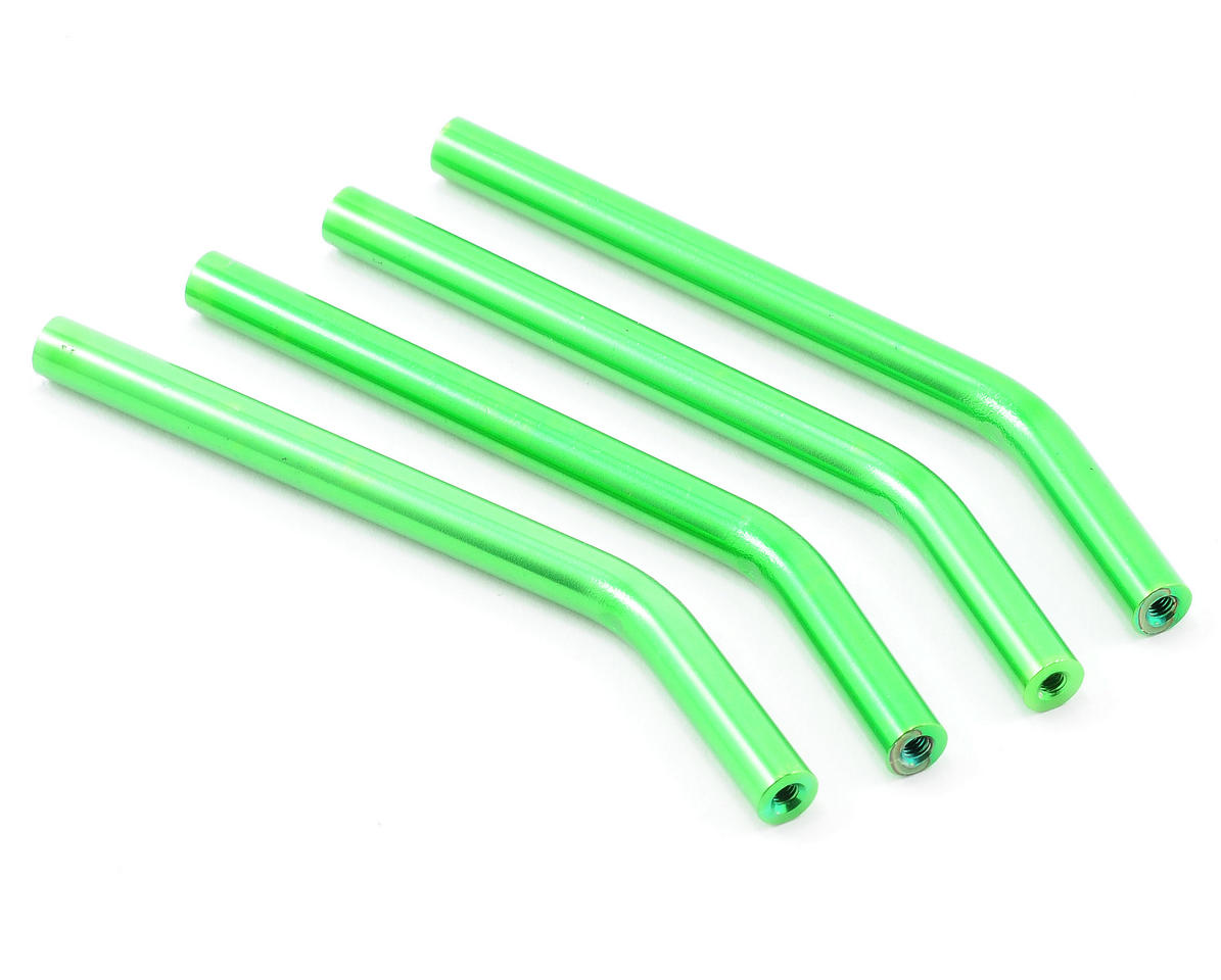 ST Racing Concepts Threaded Aluminum Suspension Links (Green) (HPI Wheely King)