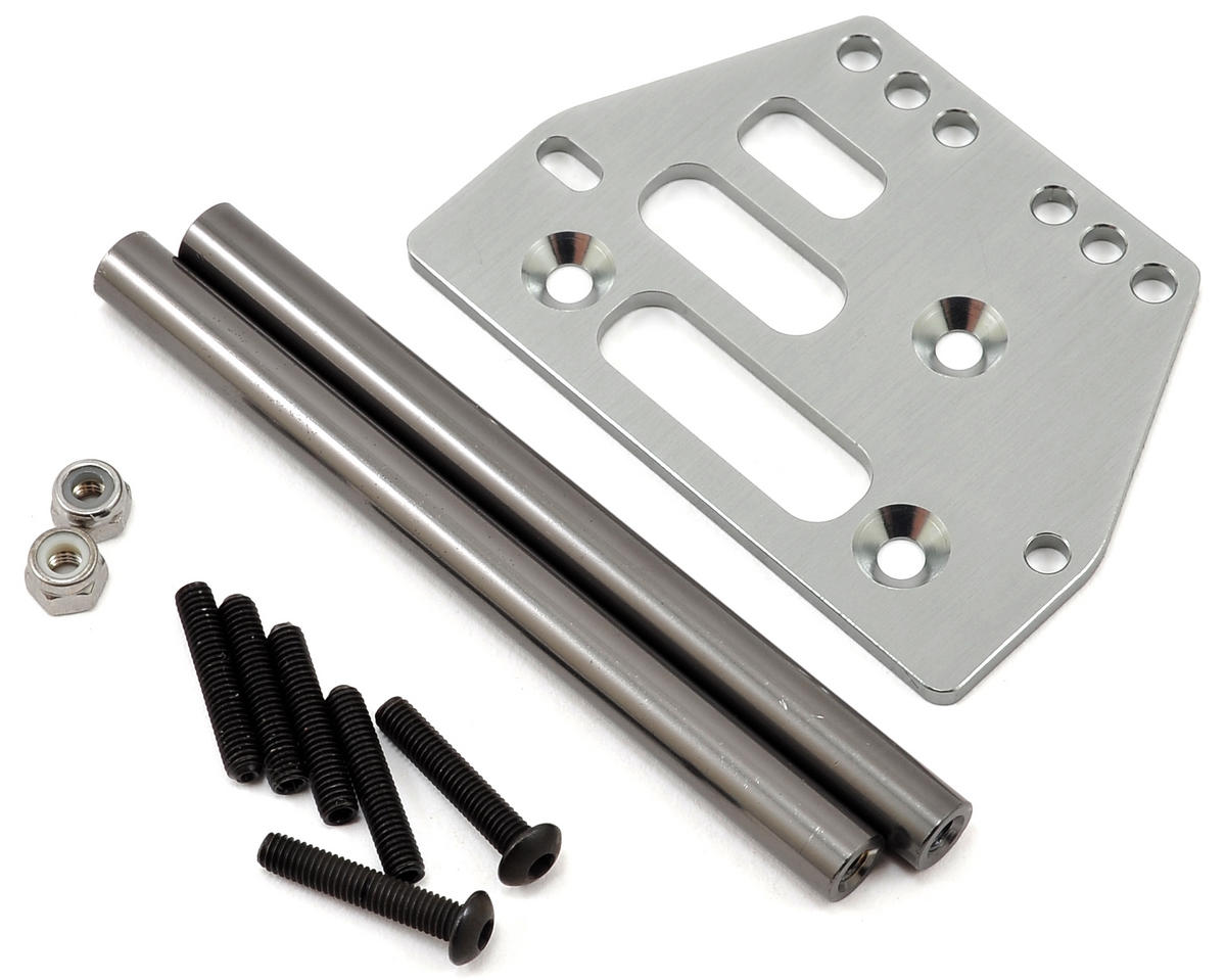 ST Racing Concepts SCX10 Front 4-link Upper Suspension Conversion (Gun Metal)