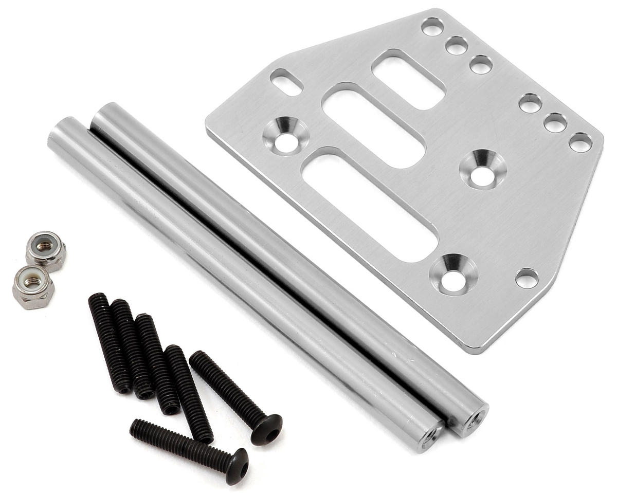 ST Racing Concepts SCX10 Front 4-link Upper Suspension Conversion (Silver)