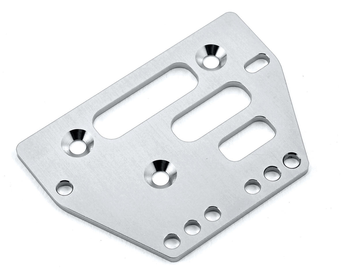 ST Racing Concepts Aluminum Front/Rear Adjustable 4-Link Servo Plate (Silver)