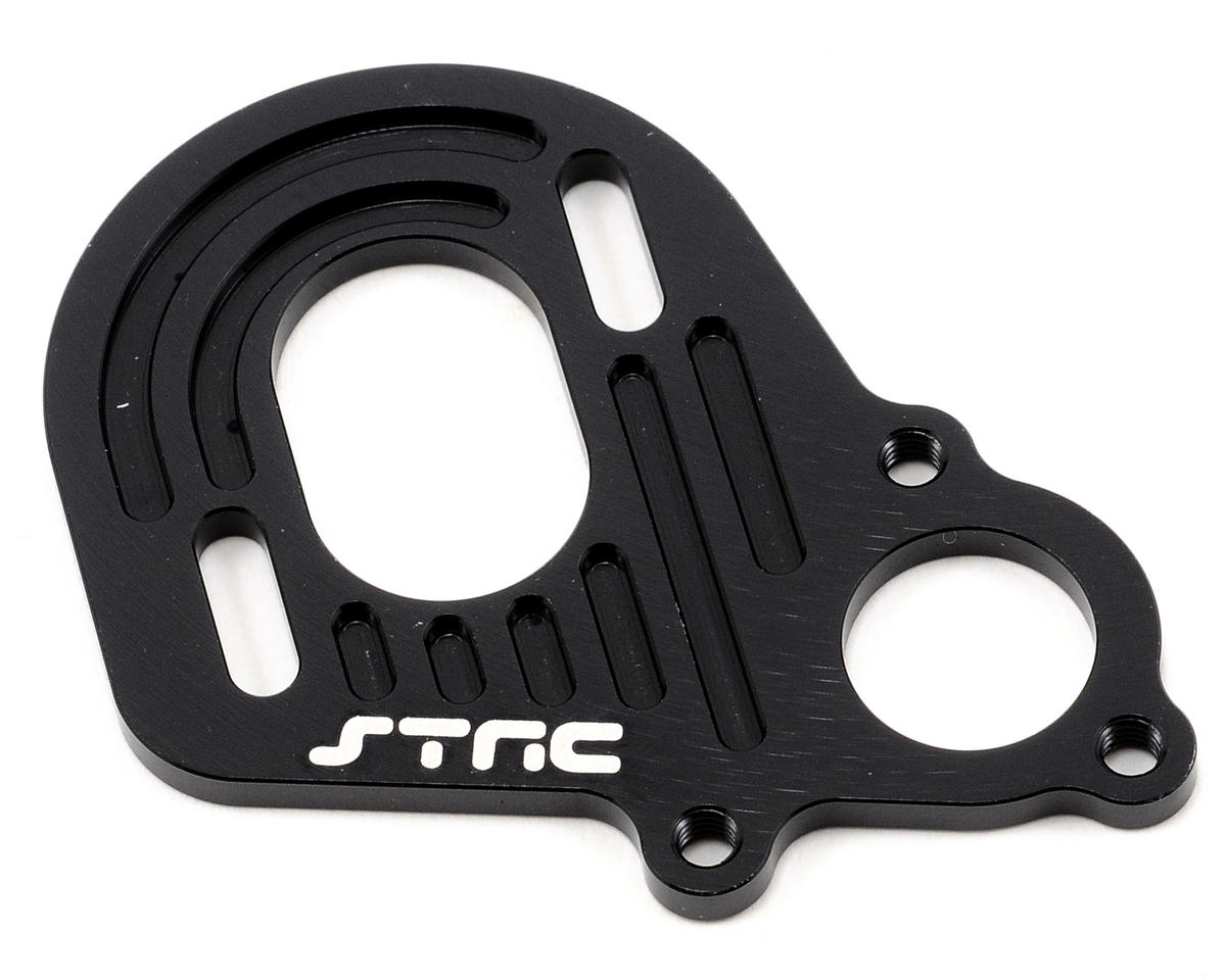 ST Racing Concepts Aluminum Motor Plate (Black)