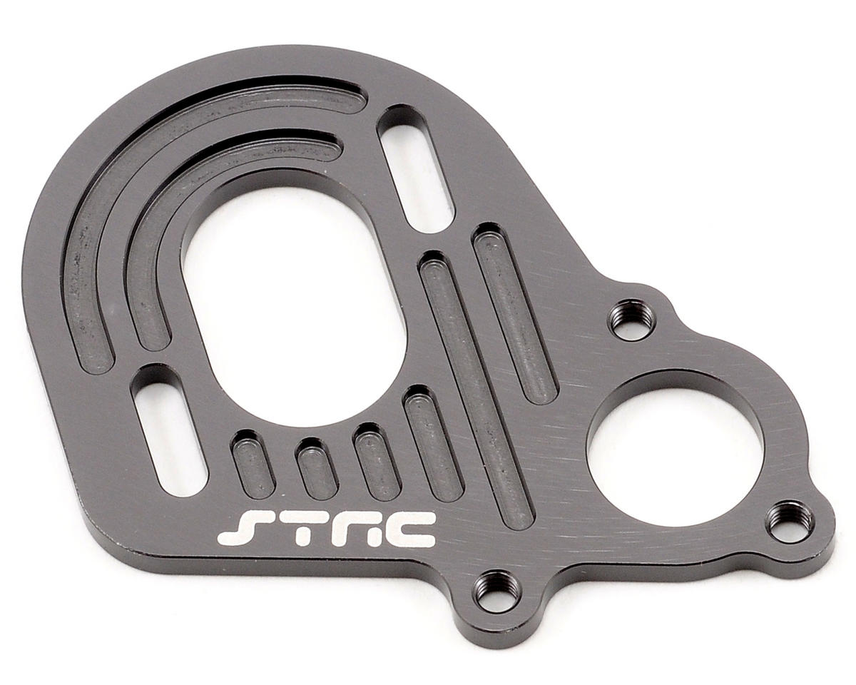 ST Racing Concepts Aluminum Motor Plate (Gun Metal)