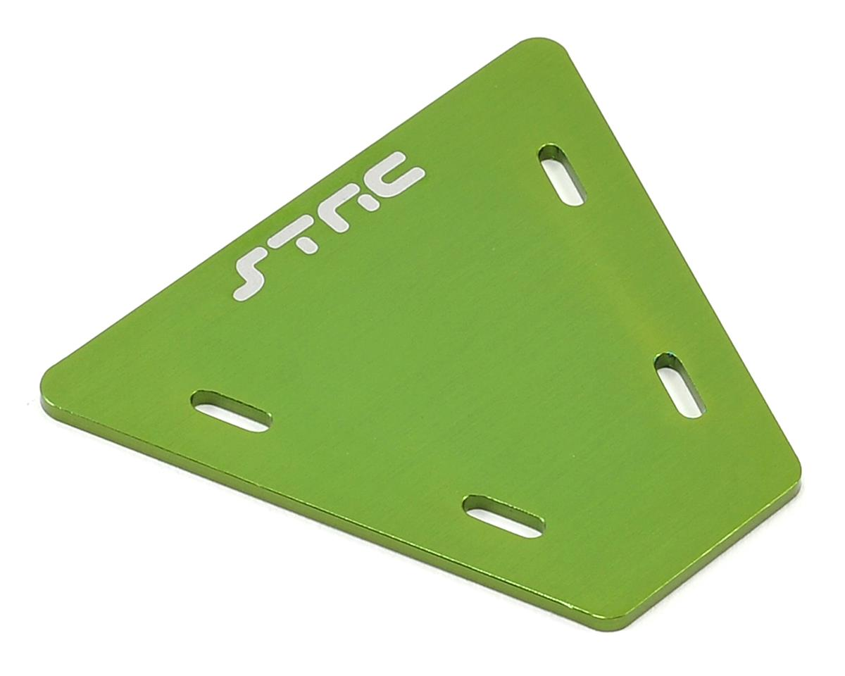 Aluminum Electronics Mounting Plate (Green) by ST Racing Concepts