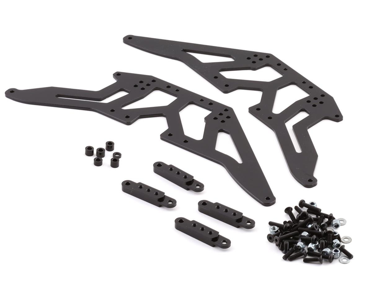 SCX10 Aluminum Chassis Lift Kit (Black)