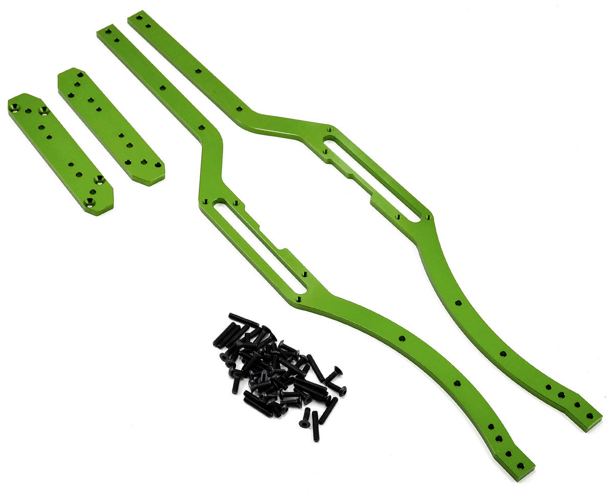 ST Racing Concepts Aluminum SCX10 Short Wheelbase Chassis Conversion (Green)