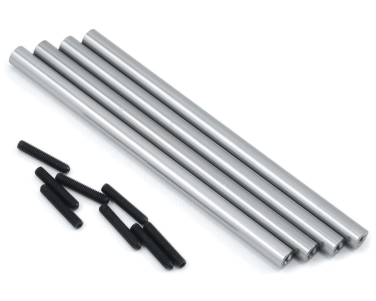 ST Racing Concepts SCX10 Aluminum Lower Suspension Link Set  (4) (Silver)
