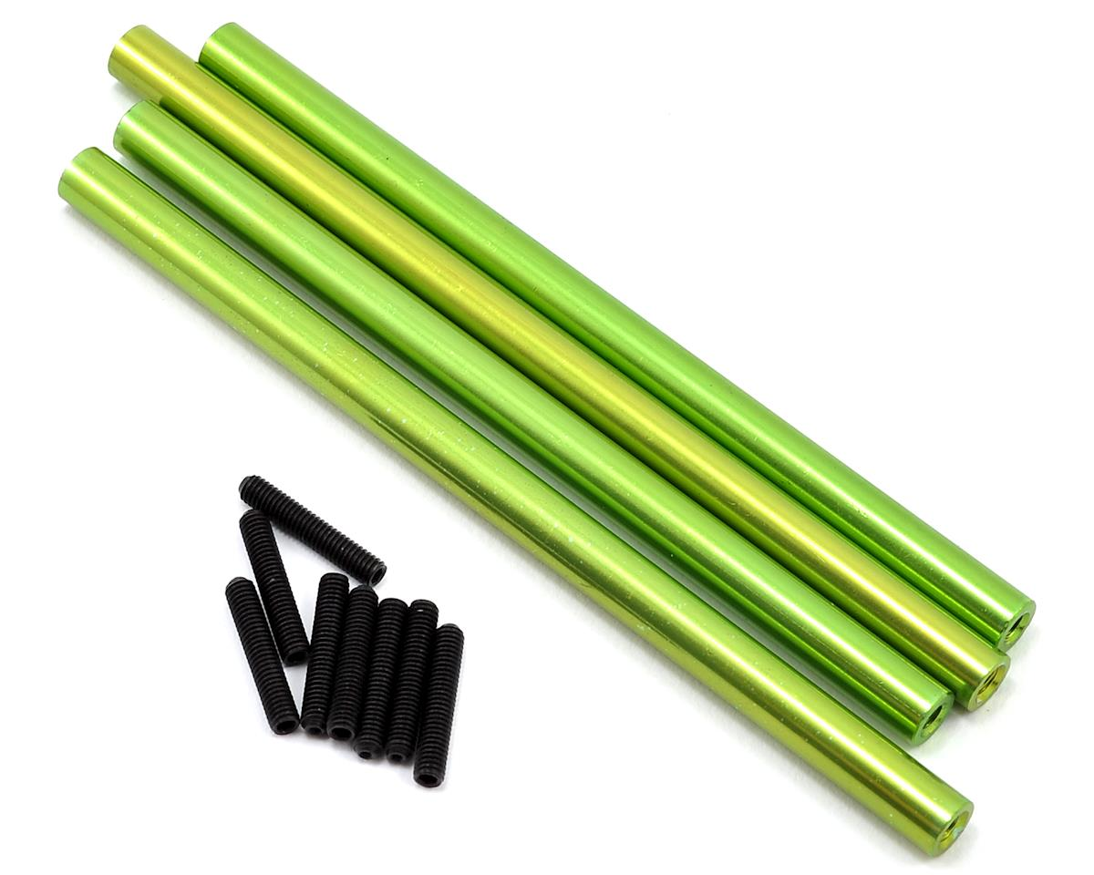 ST Racing Concepts SCX10 Aluminum Front & Rear Lower Suspension Link Set (Green)