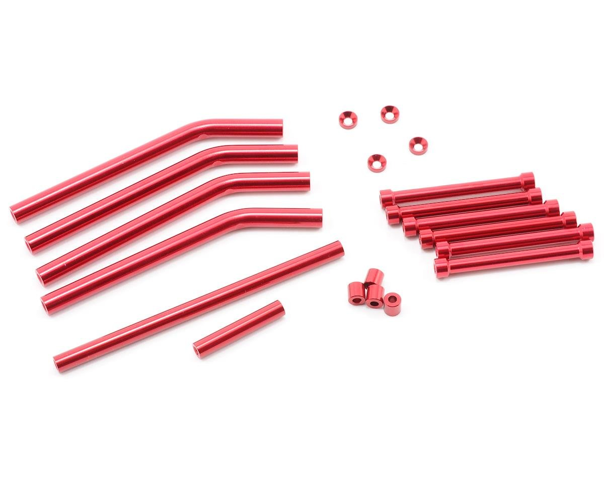 ST Racing Concepts Aluminum Suspension Link Color Conversion/Upgrade Kit (Red)