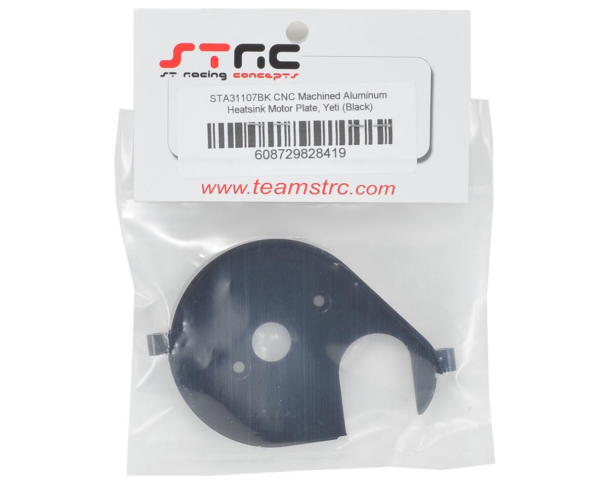 ST Racing Concepts Aluminum Heatsink Motor Plate (Black)