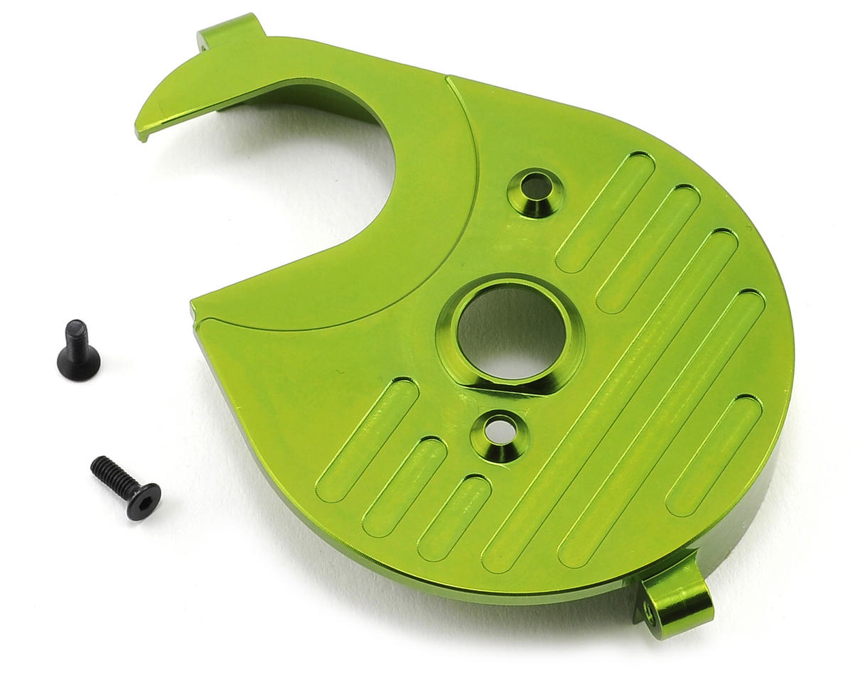 Aluminum Heatsink Motor Plate (Green) by ST Racing Concepts