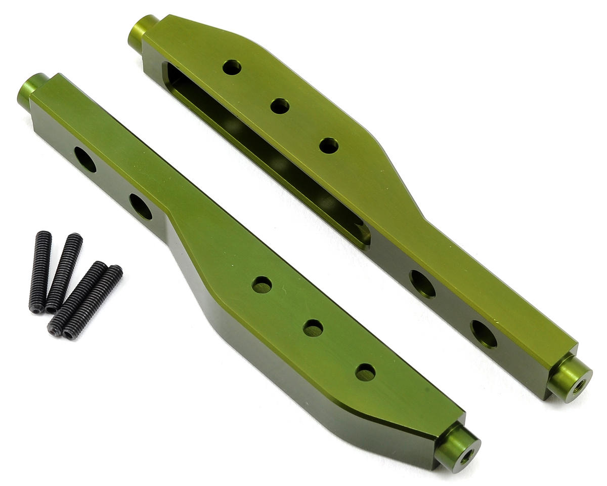 Aluminum HD Rear Lower Suspension Link Set (Green) by ST Racing Concepts