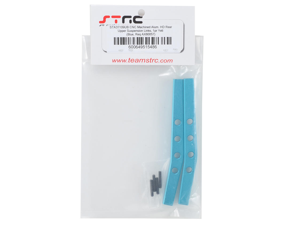Aluminum HD Rear Upper Suspension Links (2) (Blue) by ST Racing Concepts