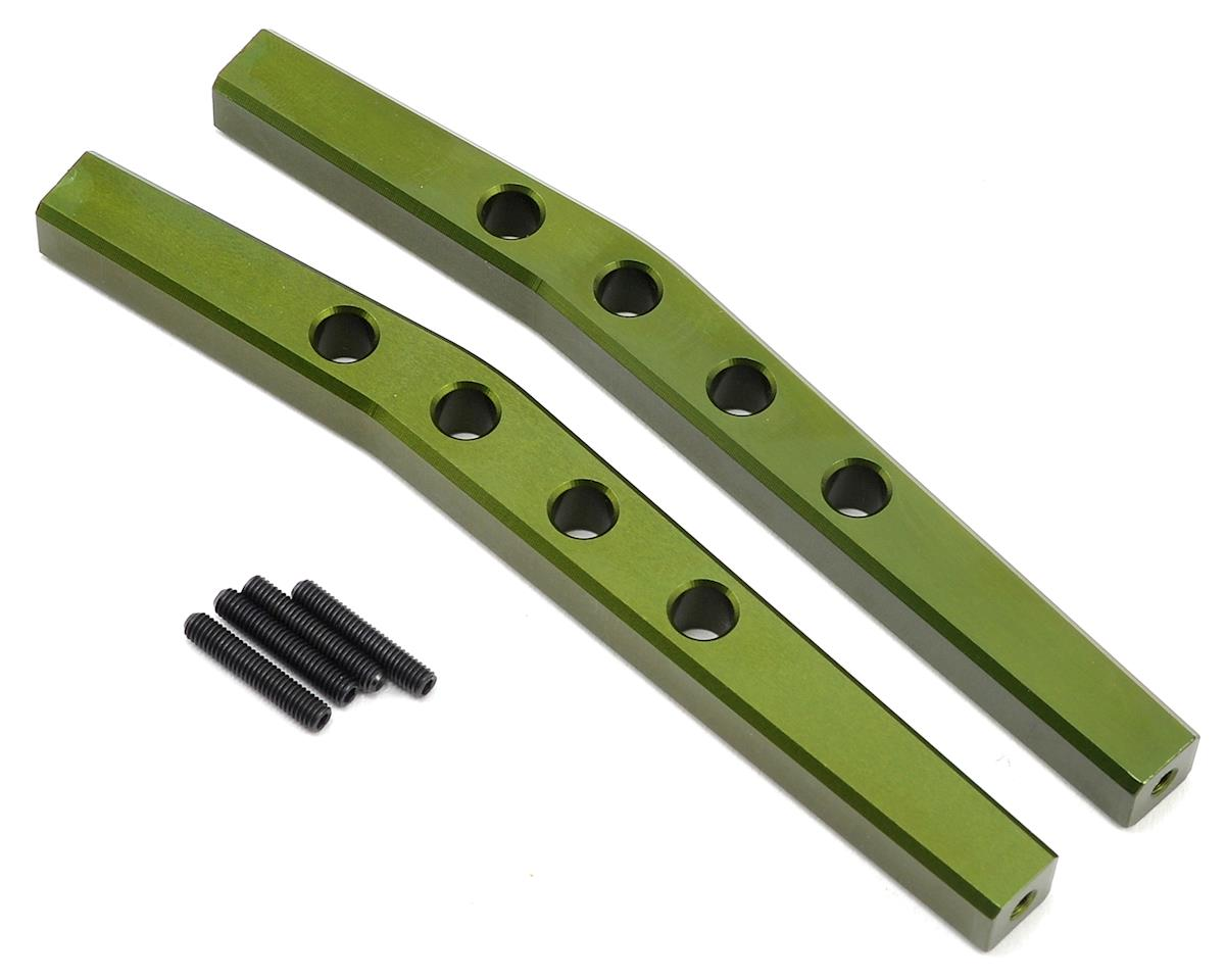 ST Racing Concepts Aluminum HD Rear Upper Suspension Link Set (Green)