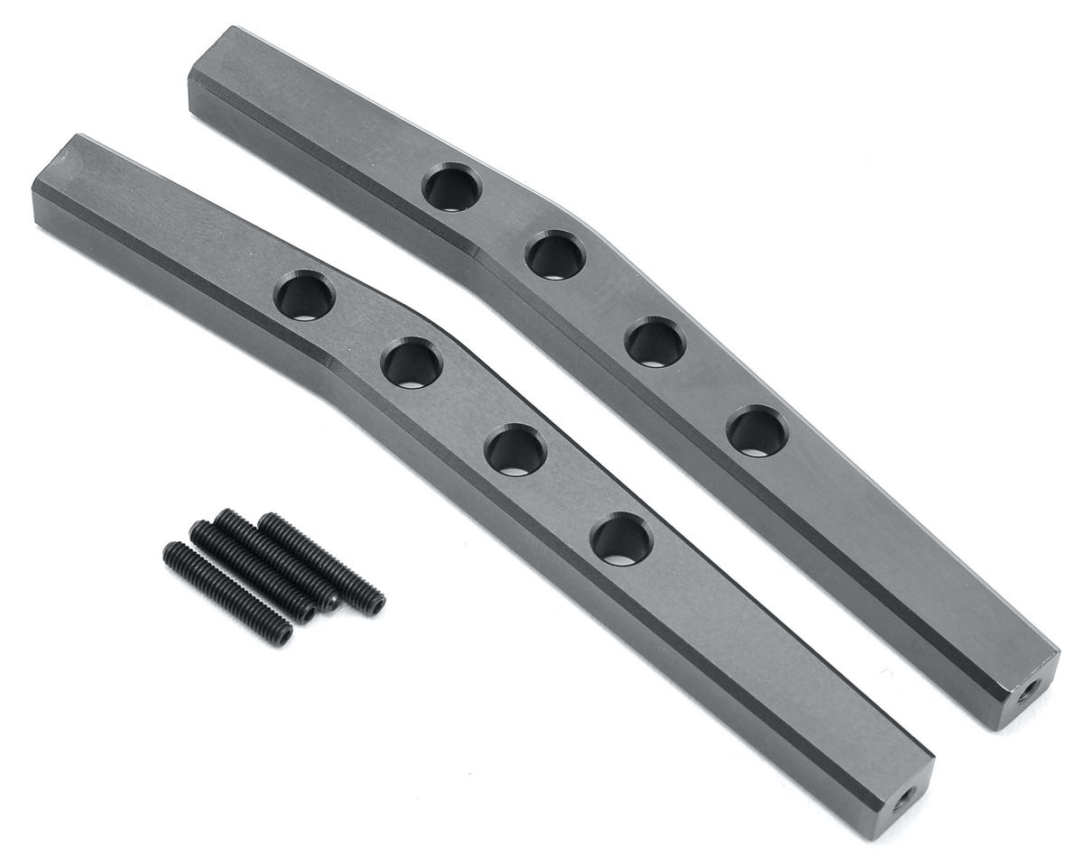 ST Racing Concepts Aluminum HD Rear Upper Suspension Link Set (Gun Metal)