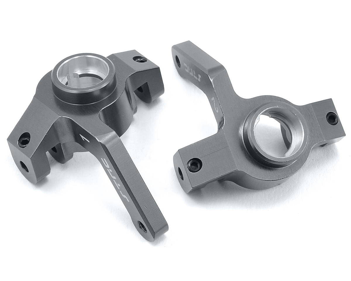 ST Racing Concepts Aluminum Steering Knuckle (2) (Gun Metal)