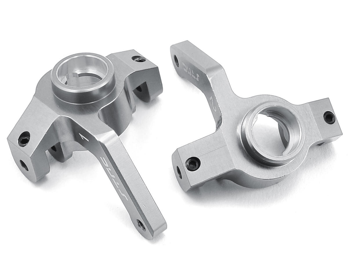 Aluminum Steering Knuckle (2) (Silver) by ST Racing Concepts