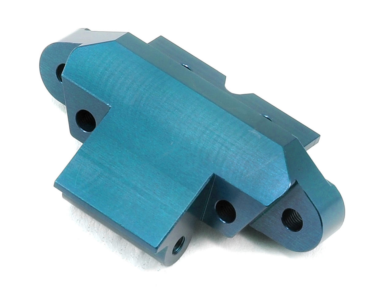 ST Racing Concepts Yeti Aluminum Front Skid Plate/Hinge Pin Mount (Blue)