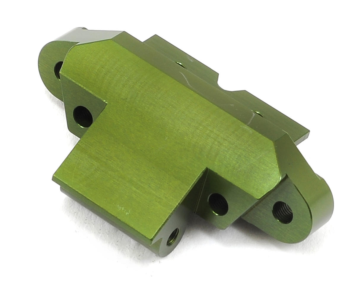ST Racing Concepts Yeti Aluminum Front Skid Plate/Hinge Pin Mount (Green)