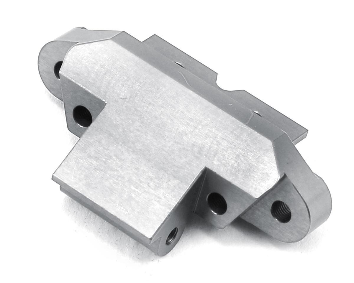 ST Racing Concepts Yeti Aluminum Front Skid Plate/Hinge Pin Mount (Silver)